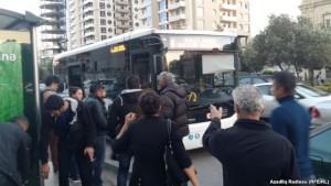 Avtobus dayanacaqlarının istifadəsi qadağan edildi