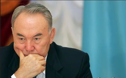 """Nazarbayev: """"Bizdə rəngli inqilab başlayıb"""""""