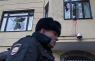 Moskvada Türkiyə səfirliyinə hücum VİDEO