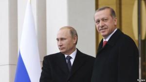 Putin Türkiyəyə gedir