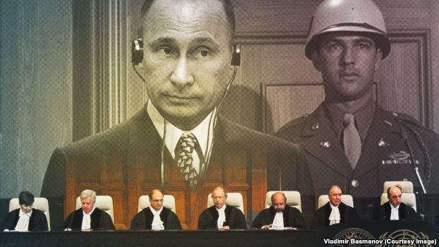 Rusiyalı fəal Putini Haaqa məhkəməsinə verib