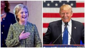 Klinton: 288, Tramp: 174, tərəddüd edən: 76