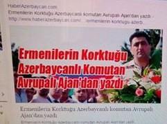 Ramil Səfərovun məqaləsi Türkiyə mətbuatında