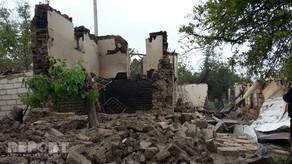 Ermənilər Azərbaycanın iki rayonunda 134 evi dağıdıb