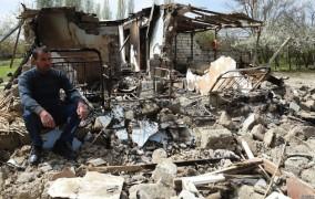 Ermənilərin bombaladığı Ağdamdan reportaj VİDEO