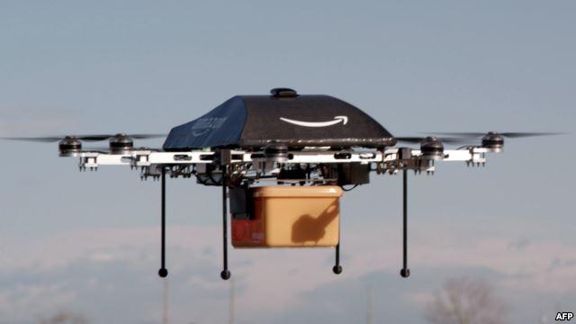 Dronlar poçtalyona çevrilir VİDEO