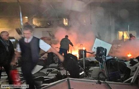 İstanbul aeroportunda dəhşətli terror: 28 ölü, 60 yaralı FOTO VİDEO