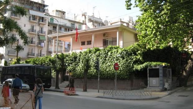 Yunanıstanda Türkiyə konsulluğuna hücum olub