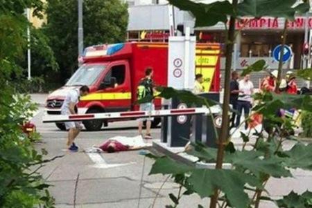 Münhendə terror: ticarət mərkəzi qana boyandı FOTO VİDEO