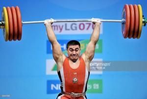 Azərbaycanın ən titullu ağırlıqqaldıranından dopinq aşkarlanıb
