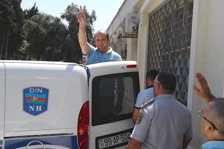 AXCP fəalına 25 sutka həbs cəzası verildi