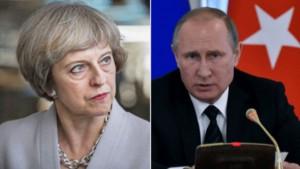 Putin Britaniyanın baş naziri ilə telefonla danışdı