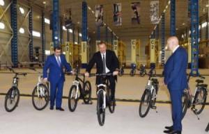 İsmayıllıdakı velosiped zavodu bağlandı?