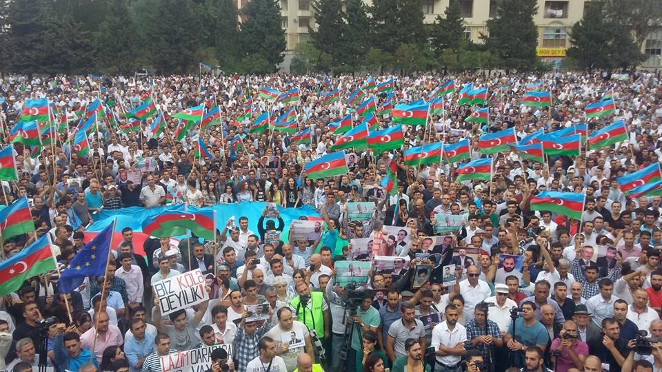 Azerbaycan'da Milli Şura miting kararı verdi: 23 Eylül 15:00 (VİDEO)