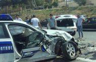 Polis maşını qəza törədib: iki ölü, dörd yaralı