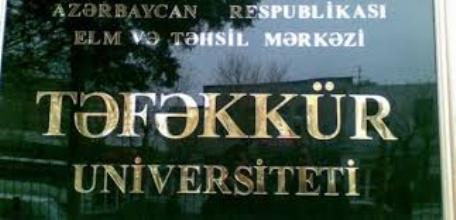 """Təfəkkür"""" Universiteti cəzalandırıla bilər"""