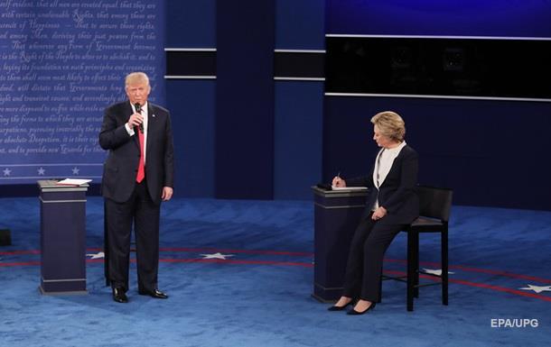 Sorğu: Klinton Trampı 12 faiz qabaqlayır