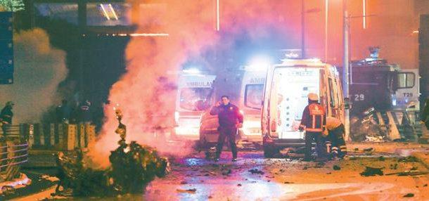 İstanbulda güclü partlayış - 29 nəfər ölüb, 166 nəfər yaralanıb FOTO VİDEO