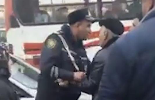 Göygöl sakini YPX əməkdaşlarının onu döydüyünü bildirir VİDEO
