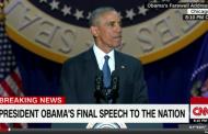 Barak Obama vida çıxışını etdi VİDEO