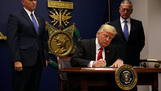 Tramp Rusiyaya qarşı yeni sanksiyaları təsdiqləyib