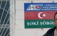 AXCP Şəki şöbəsinin qərargahı əlindən alındı;
