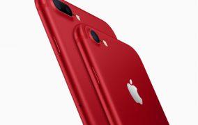 Al-qırmızı rəngdə iPhone 7 satışda