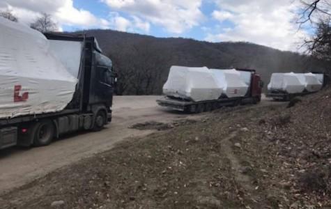 Gürcüstan ərazisi ilə Ermənistana hansı texnika daşınıb?