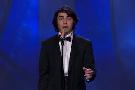 17 yaşlı İbrahim İsveç tamaşaçılarını belə ağlatdı VİDEO