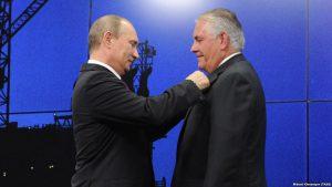 """""""Tillerson Putinlə yeməyə böyük qaşıqla otursun"""""""
