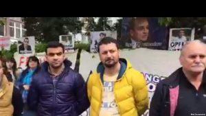 Berlində Azərbaycanlı siyasi məhbusların müdafiə aksiyası keçirilib