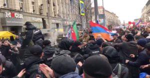 Moskvada ermənilərlə azərbaycanlılar arasında dava düşüb – foto-video