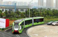 Çində relssiz tramvay yaradılıb