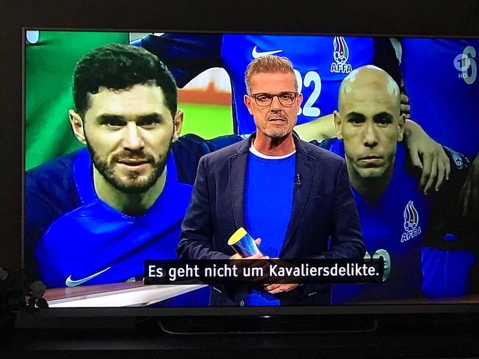 """Almaniya futbolunun rəhbəri: """"Cavid Hüseynov niyə belə tez azad edildi?"""""""