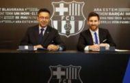 """Messi """"Barselona"""" ilə yeni müqavilə imzalayıb"""