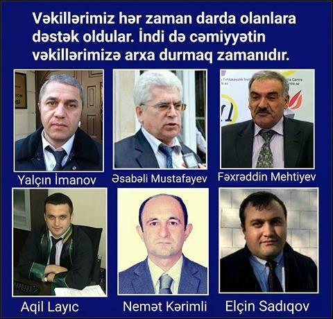 """""""Hakimiyyətin vəkilləri susdurmasına imkan verməyək!"""""""