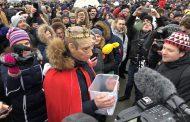 Rusiyanın 118 şəhərində anti-Putin mitinqi FOTO
